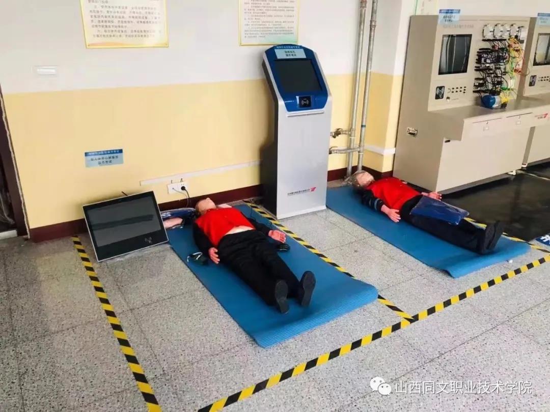 学院铁道运输系高标准综合实训演练室即将投入使用